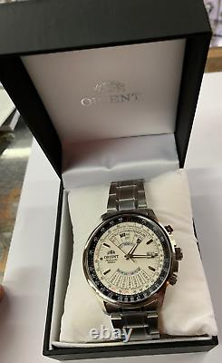 ORIENT Automatic Originl FEU07005WX Stainless Steel FEU07005 With ORIENT Box