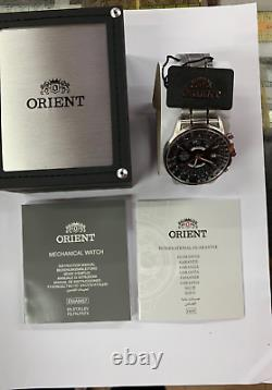 ORIENT Automatic Watch FEU07005BX Stainless Steel 100m FEU07005 With ORIENT Box