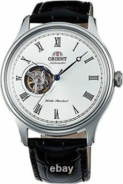ORIENT Men's Classic Automatic with Hand Winding Open Heart Dome FAG00003W