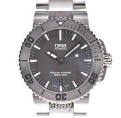 ORIS Aquis Date 733.7653.4153 gray Dial Automatic Men's Watch T#100852