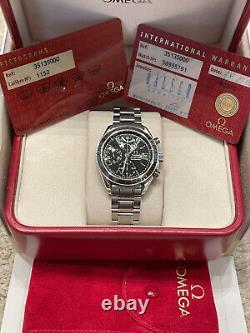 Omega Speedmaster 35135000 Automatic Chronograph Black Mens Steel Date Watch