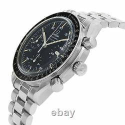 Omega Speedmaster Reduced Black Dial Steel Automatic Mens Watch 3510.50.00