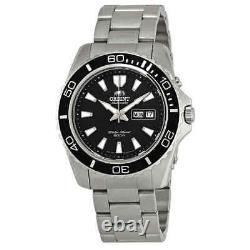 Orient Mako XI Automatic Black Dial Men's Watch FEM75001BR