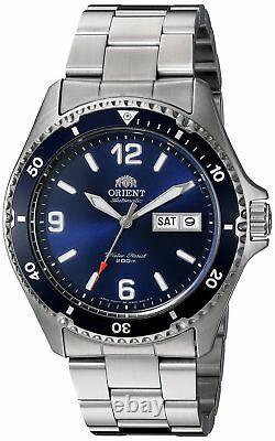 Orient Men's'Mako II' Japanese Automatic S. Steel Diving Watch FAA02002D9