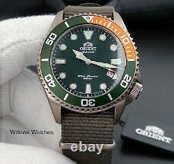 Orient Triton Automatic 200M Sapphire Crystal Watch RA-AC0K04E10B Brand New