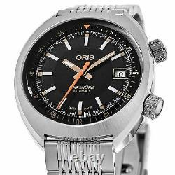 Oris 01 733 7737 4034-SET MB Men's Chronoris Black Automatic Watch