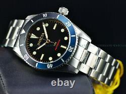 Rare New Invicta 1953 Batman Pro Diver Men's Automatic 40mm Black Dial Watch