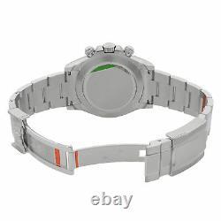 Rolex Cosmograph Daytona Platinum Blue Diamond Dial Automatic Men Watch 116506IB