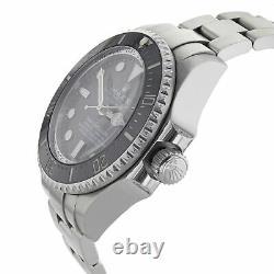 Rolex Deepsea Sea-Dweller 116660 Black Dial Steel Automatic Men's Watch