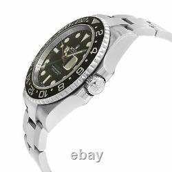 Rolex GMT-Master II Black Dial 116710LN Steel Automatic Men's Watch Box Papers