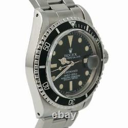 Rolex Submariner 1680 Men Automatic Vintage Unpolished Watch 4.4 Serial 40mm