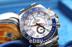 Rolex Yacht-Master II 116680 White Dial Automatic 44mm Men's Watch