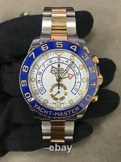 Rolex Yacht-Master II 116681 New Hands Steel 18K Pink Gold Automatic Watch