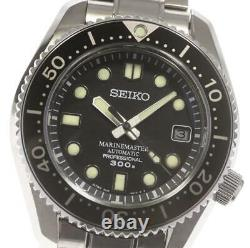 SEIKO Marine master SBDX017/8L35-00K0 Date black Dial Automatic Men's 598310