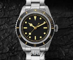 San Martin 6200 Vintage Automatic Dive Watch NH35 -Sterile Submariner- UK Stock