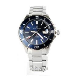 Seagull Ocean Star Automatic 20Bar Men's Diving Swimming Watch Blue Dial 816.523