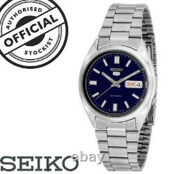 Seiko 5 Automatic Blue Dial Stainless Steel Mens Watch SNXS77K1 SNXS77 RRP £169