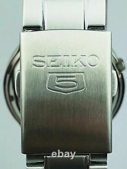 Seiko 5 Automatic Stainless Steel Black Dial Mens Watch SNK795K1 RRP £169