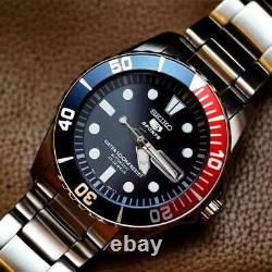 Seiko 5 SNZF15K1 PEPSI SUB 7S36 Automatic Watch Scuba Diver SNZF15 SEA URCHIN UK