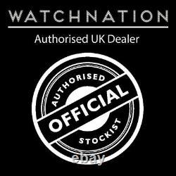 Seiko 5 Sports Automatic Black Canvas Strap Mens Watch SNZG15K1 RRP £199