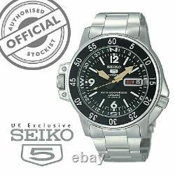 Seiko 5 Sports Automatic Land Shark Atlas Mens Watch SKZ211K1