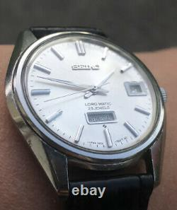 Seiko Lord Matic 5606-7060 Automatic Mens Vintage Watch (1968)