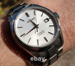 Seiko Presage SARX055 40.8mm Titanium Automatic Baby Grand Snowflake Men's Watch