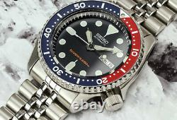 Seiko SKX009 K2 Jubillee PEPSI Watch Automatic 200m Diver UK Scuba Diving SKX