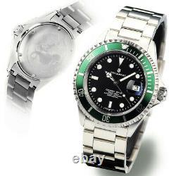 Steinhart OCEAN 1 One 42mm Green Swiss Automatic Diver Watch 103-0919 ETA 2824-2