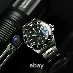 Steinhart Ocean 1 One 39 Black Ceramic Bezel Automatic Swiss Dive Watch 103-0981