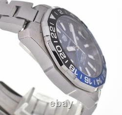 TAG HEUER Aqua Racer Caliber7 GMT WAY201T. BA0927 Automatic Men's Watch L#103675