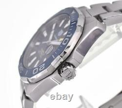 TAG HEUER Aqua Racer Caliber 5 WAY201B. BA0927 Automatic Men's Watch G#102518