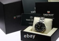 TAG HEUER Aqua racer WAY2010 Calibre 5 black Dial Automatic Men's Watch 557658