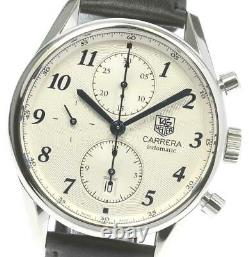 TAG HEUER Carrera Heritage CAS2111 Chronograph Automatic Men's Watch 605290
