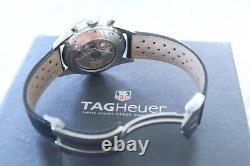 Tag Heuer Carrera Cv2010 Black Chronograph Cal. 16 Men's Automatic Wrist Watch
