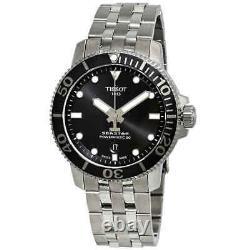 Tissot Seastar 1000 Automatic Black Dial Men's Watch T1204071105100