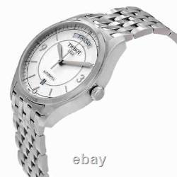 Tissot T-One Automatic Day Date Silver Dial Men's Watch T038.430.11.037.00