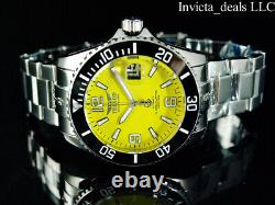 Tresod Men's Ocean Master AUTOMATIC Yellow Dial Sapphire Crystal 300M SS Watch