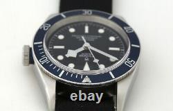 Tudor Heritage Black Bay Blue Bezel Automatic Watch 79230B