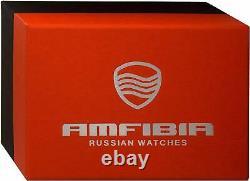 VOSTOK AMPHIBIA REEF 080493/2426 RUSSIAN AUTOMATIC MECHANICAL WATCH 200m NEW