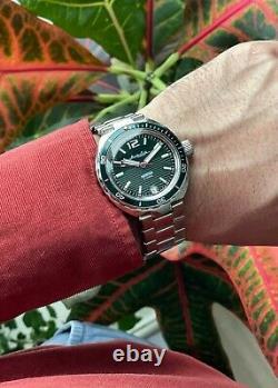 VOSTOK Amphibian AUTOMATIC 960758 Neptun Russian Diver WRIST WATCH NEW