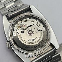 Vintage MIDO FUTURA Men's Automatic watch day/date 17Jewels ETA 2879 swiss 1970s
