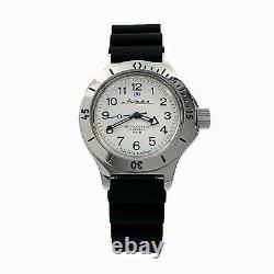 Vostok Amphibia AUTOMATIC 120813 Diver white Russian wrist watch men new